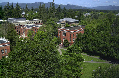 The University of Oregon